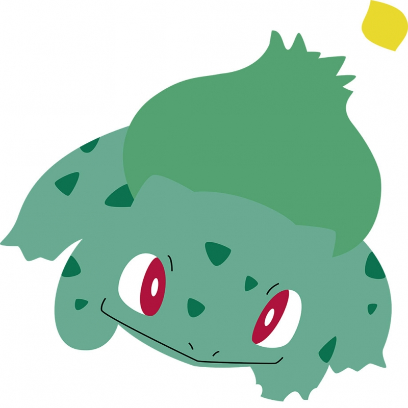 Bulbasaur 9 Pokemon Karakterleri Kanvas Tablo