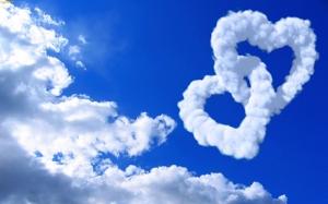 Bulutların Aşkı Aşk & Sevgi Kanvas Tablo