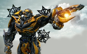 Bumblebee Transformers 4 Kanvas Tablo 2