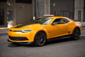 Bumbleblee Transformers Chevrolet Camaro Kanvas Tablo