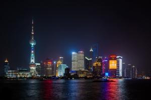 Bund Şangay Dünyaca Ünlü Şehirler Kanvas Tablo
