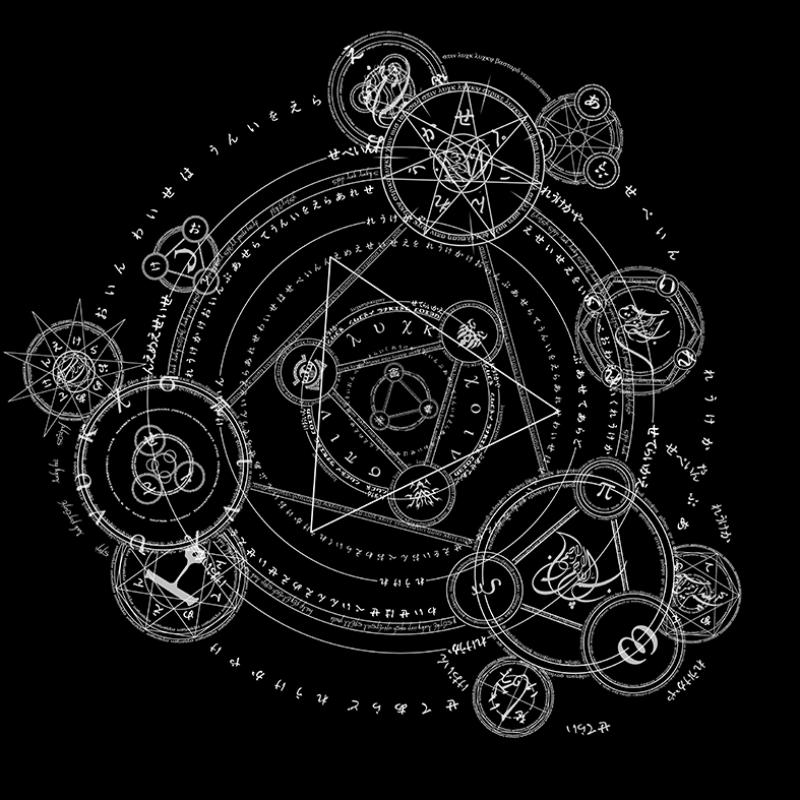 Burç Simgeleri Astroloji & Burçlar Kanvas Tablo 2