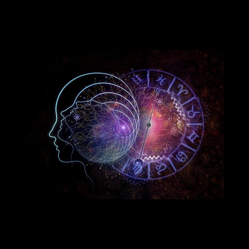 Burç Simgeleri Astroloji & Burçlar Kanvas Tablo