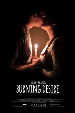 Burning Desire Film Afişi Sinema Kanvas Tablo