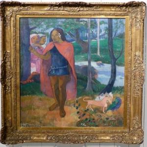 Büyücü Le Sorcier D Hiva Oa Paul Gauguin Reproduksiyon Kanvas Tablo