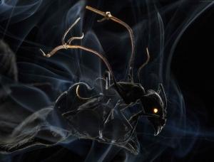 Büyük Karınca Abstract Kanvas Tablo