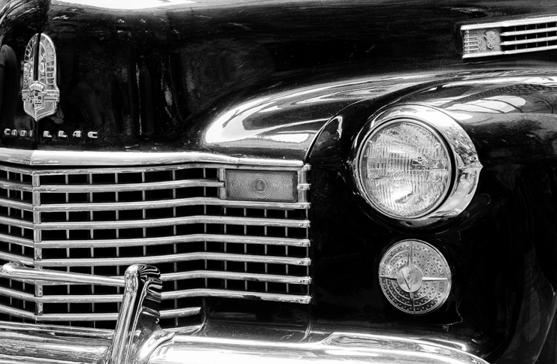 Caddillac Klasik Otomobil Araçlar Kanvas Tablo