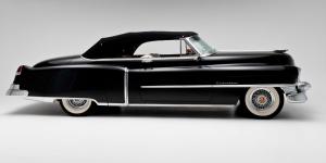 Cadillac Klasik Otomobiller 4 Siyah Eski Klasik Amerikan Arabalar Poster Araclar Canvas Tablo