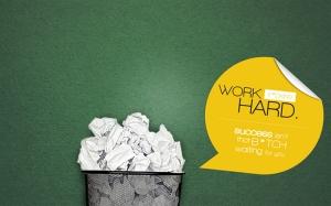Çalışmak İş Çöp Popüler Kültür Kanvas Tablo