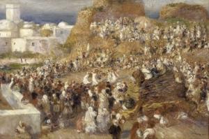Cami Pierre, August Renoir The Mosque Klasik Sanat Kanvas Tablo