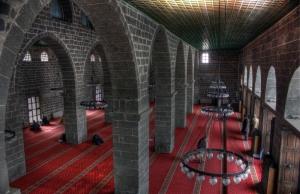 Camii İç Detayı 2 Dini & İnanç Kanvas Tablo