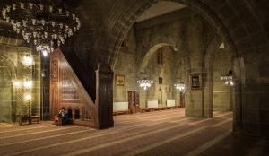 Camii İç Mimari Detayı Dini & İnanç Kanvas Tablo