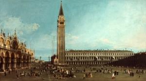 Canaletto Bernando Canal Yağlı Boya Sanat Kanvas Tablo