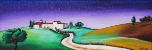Carlo Cappelli Gerçek Ve Düş Arasında Manzara Sanat Kanvas Tablo