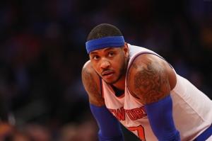 Carmelo Anthony Basketbol Spor Kanvas Tablo