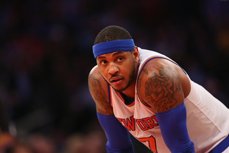 Carmelo Anthony Basketbol Spor Kanvas Tablo