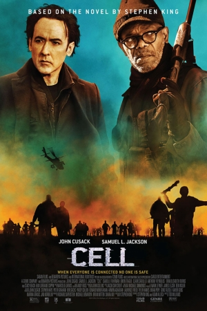 Cell-2016 Film Afişi Sinema Kanvas Tablo