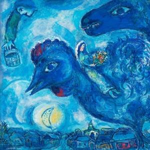Chagall ın Vitebsk deki Rüyası Marc Chagall Le Reve De Chagall Sur Vitebsk Klasik Sanat Kanvas Tablo