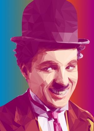 Chaplin Popüler Kültür Kanvas Tablo