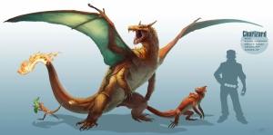 Charizard Gyarados 15 Pokemon Karakterleri Kanvas Tablo