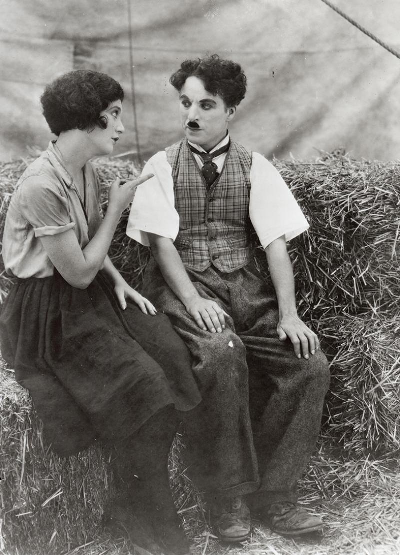 Charlie Chaplin Ünlü Yüzler Kanvas Tablo