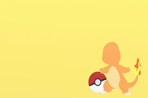 Charmander 6 Pokemon Karakterleri Kanvas Tablo