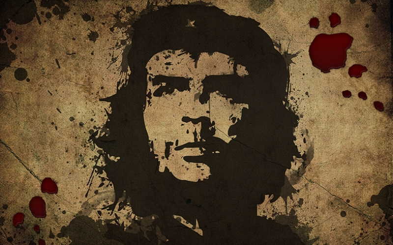 Che Guevara İlüstrasyon Ünlü Yüzler Kanvas Tablo 2