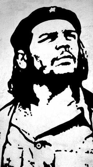 Che Guevara İlüstrasyon Ünlü Yüzler Kanvas Tablo