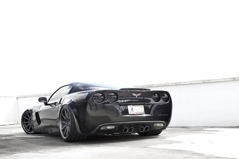 Chevrolet Corvette Araçlar Kanvas Tablo
