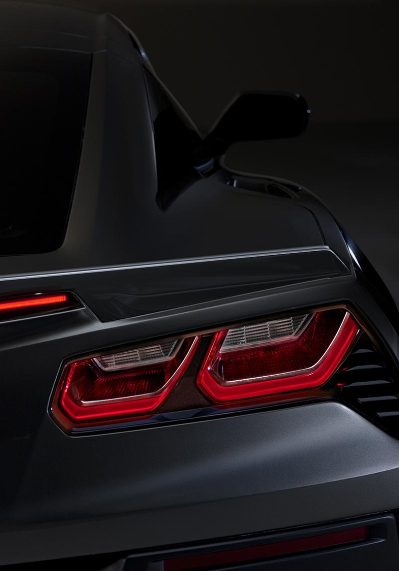 Chevrolet Corvette Otomobil Araçlar Kanvas Tablo