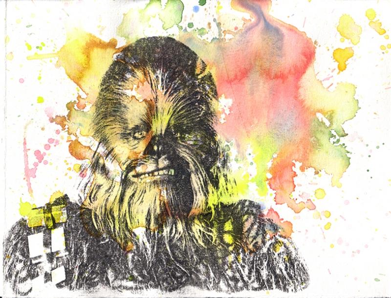 Chewbaca Star Wars Kanvas Tablo