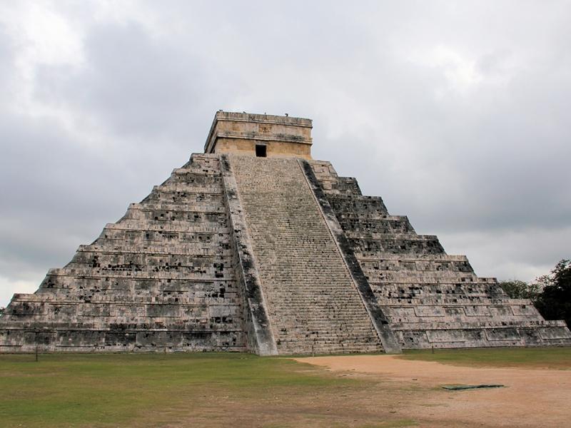Chicken Itza Meksika Unesco Dünya Kültür Mirasları Kanvas Tablo