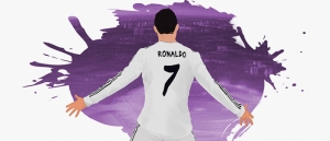 Christiano Ronaldo CR7 Real Madrid Futbol Star Kanvas Tablo