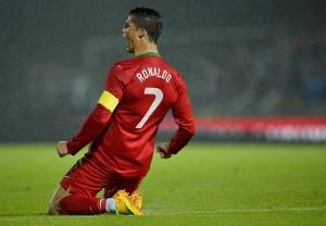 Christiano Ronaldo Portekiz Futbol Star-2 Kanvas Tablo