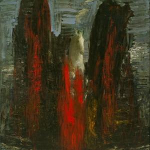 Christopher Le Brun At Soyut Abstract Yağlı Boya Klasik Sanat Kanvas Tablo