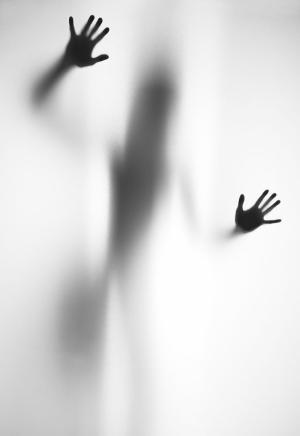 Çığlık 1 Siyah Beyaz Fotoğraf Kanvas Tablo