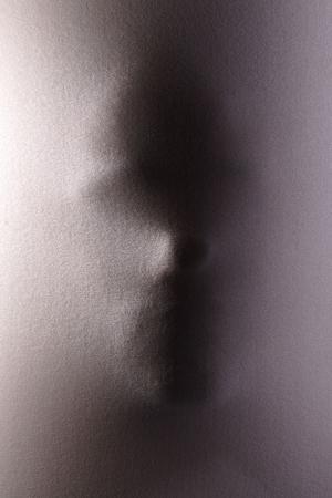Çığlık 2 Siyah Beyaz Fotoğraf Kanvas Tablo