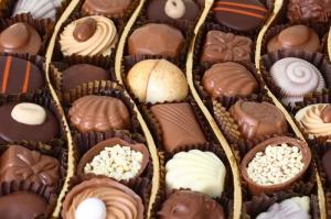 Çikolatalar 1 Lezzetler Kanvas Tablo
