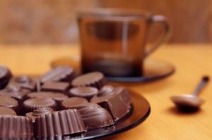 Çikolatalar 2 Lezzetler Kanvas Tablo