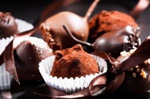 Çikolatalar 3 Lezzetler Kanvas Tablo