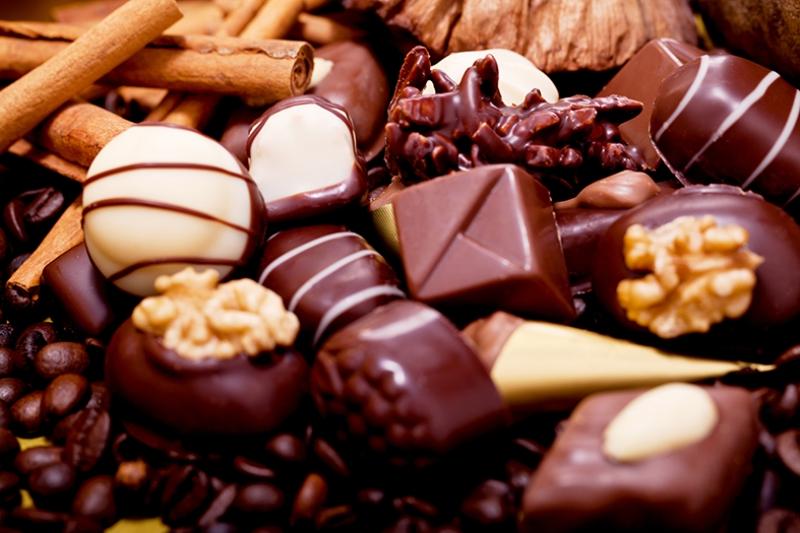Çikolatalar Lezzetler Kanvas Tablo