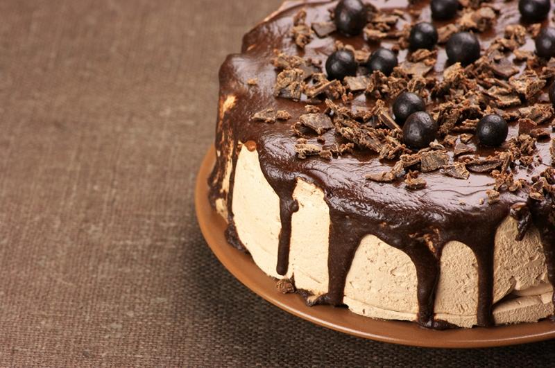 Çikolatalı Pasta 2 Lezzetler Kanvas Tablo