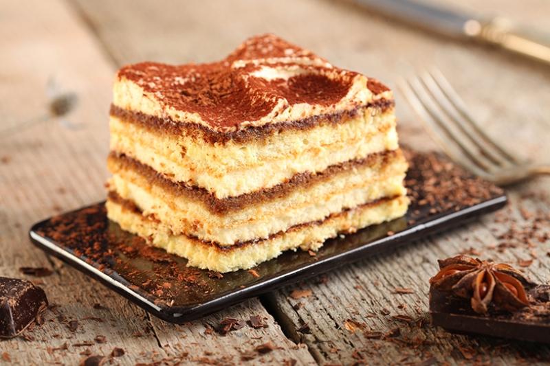 Çikolatalı Pasta Lezzetler Kanvas Tablo