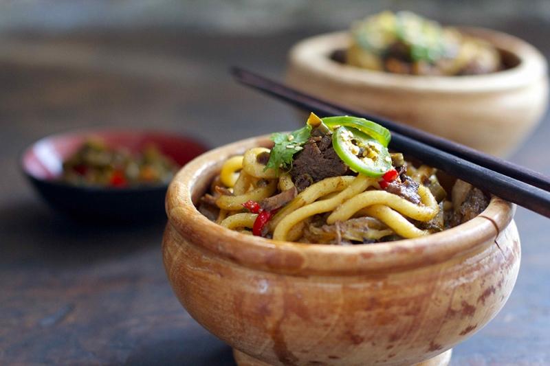 Çin Yemeği Lezzetler Kanvas Tablo
