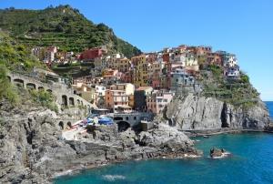 Cinque Terre Unesco Dünya Kültür Mirasları Kanvas Tablo