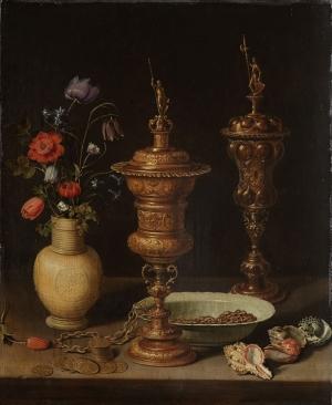 Clara Peeters Vazo İçinde Çiçekler Klasik Sanat Kanvas Tablo