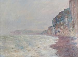 Claude Monet Falaises Yağlı Boya Sanat Kanvas Tablo