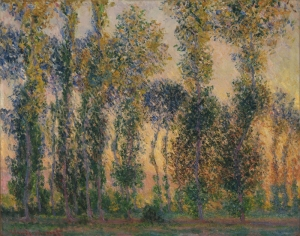 Claude Monet Gün Doğumu Yağlı Boya Klasik Sanat Canvas Tablo