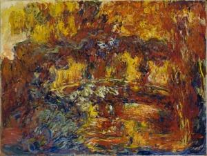 Claude Monet Japon Koprüsü Yağlı Boya Klasik Sanat Canvas Tablo
