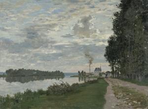 Claude Monet Kompozisyon 2 Yağlı Boya Sanat Kanvas Tablo